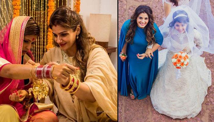 Raveena Tandon's Younger Daughter Had A Goa Wedding And The Pictures Are Breathtaking