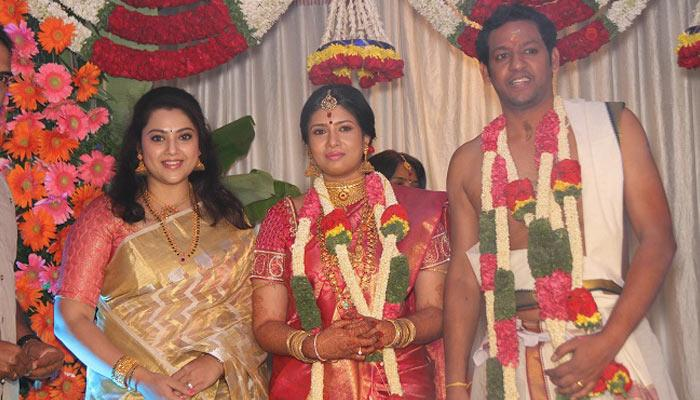 South Indian Actress Sanghavi Ties The Knot With An IT Professional