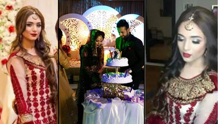 Exclusive First Look Of Indian Cricketer Irfan Pathan's Wife Safa Baig At Their Wedding