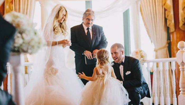Watch This Groom Make The Most Heart-Touching Wedding Vows To His Bride's Daughter