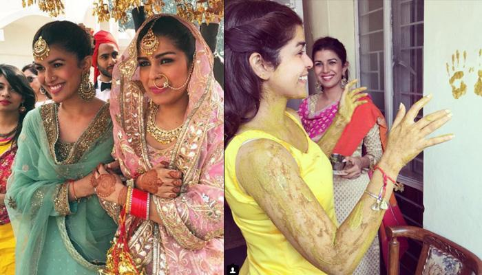 Bollywood Actress Nimrat Kaur's Sister Got Married In Delhi In A Beautiful Wedding Ceremony