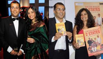 Love Story Of The Original '2 States' Couple Chetan Bhagat And Anusha Bhagat