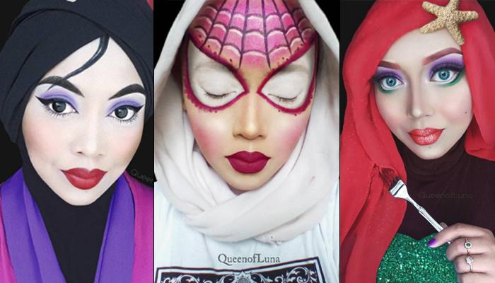 This Super-Talented Makeup Artist Uses Her Hijab To Transform Into Stunning Disney Characters