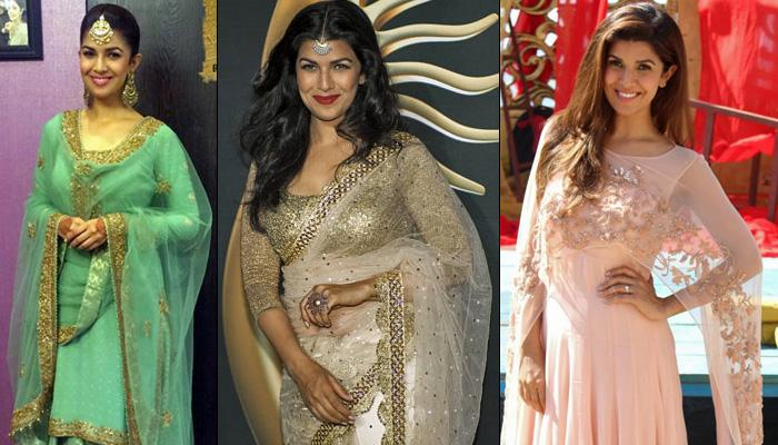 7 Gorgeous Outfit Inspirations From Nimrat Kaur For Your Sibling's Wedding