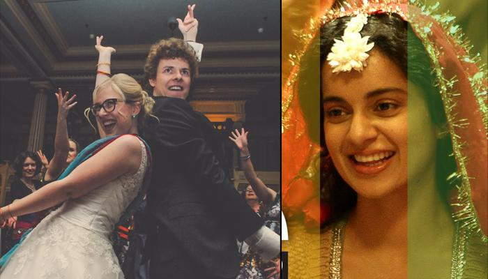 This Cute Bollywood-Obessed Australian Couple Danced To 'London Thumakda' At Their Wedding