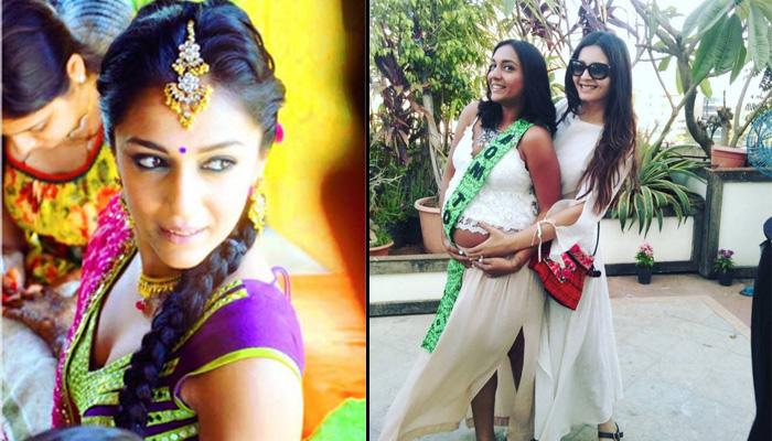 TV Actress Shveta Salve's Baby Shower Pictures Prove She Is One Hot Mommy!