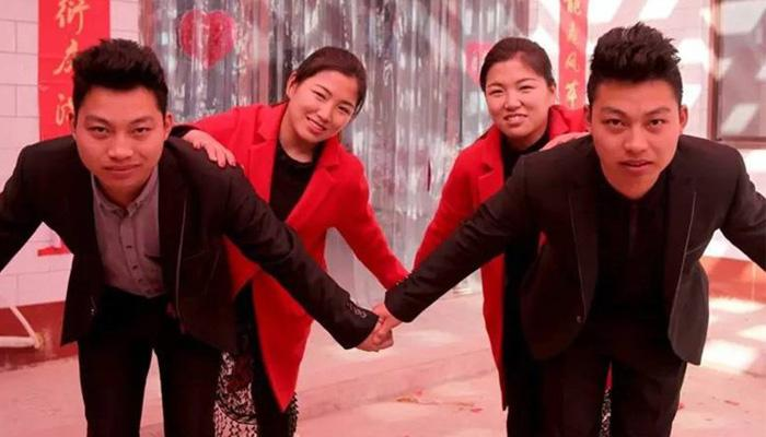 Chinese Twin Brothers Married To Twin Sisters Go For Plastic Surgery For Reasons That Will Shock You