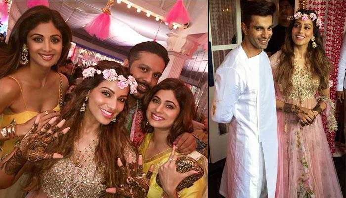 The Filmi Mehendi And Sangeet Of Karan Singh Grover And Bipasha Basu Was One Of Its Kind