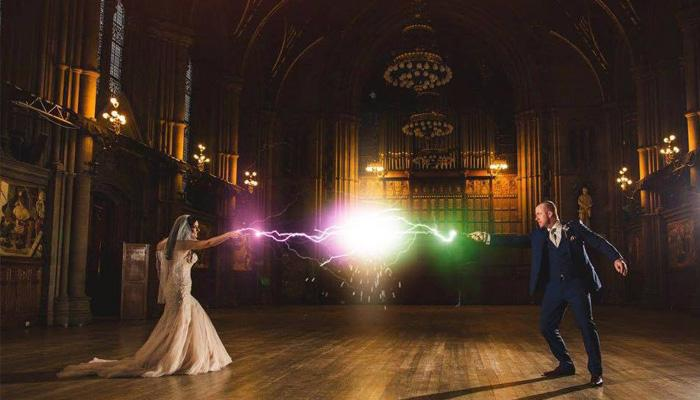 This 'Potterhead' Couple Had An Unbelievable Harry Potter Theme Wedding Of All Times