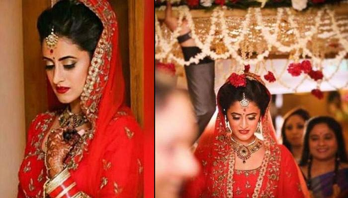 'Yeh Hai Mohabbatein' Star Mihika Varma Looks Like A Dream Bride In These Wedding Pictures