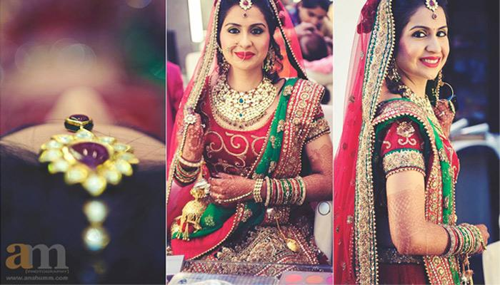 I Bridal Mehndi Jewellery : How to pick jewellery match your wedding outfit