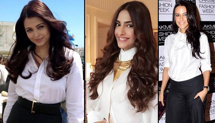 White Shirt Alert: 7 Gorgeous Trends By Bollywod Divas