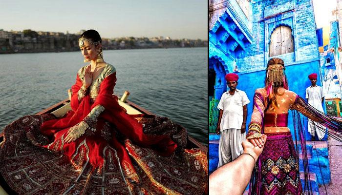 The 'Follow Me To' Couple Is BACK In India And Their Instagram Is Yet Again A Riot Of Colours