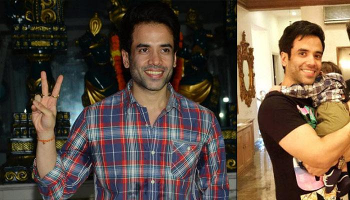 The Adorable First Picture Of Tusshar Kapoor's Little Son Is Here
