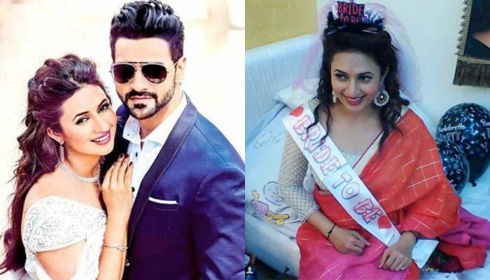 Divyanka Tripathi Is Looking Like A Princess On Her Bachelorette Party