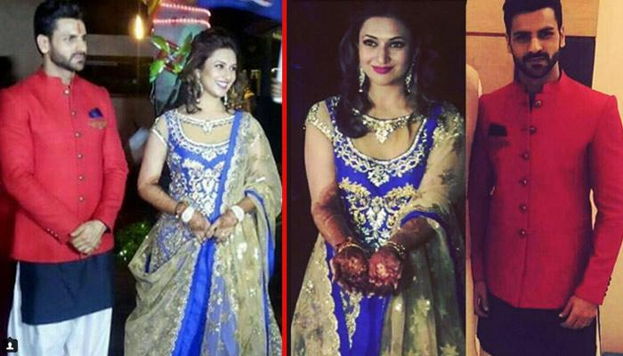 Exclusive Pictures And Videos Of Divyanka Tripathi And Vivek Dahiya's Sangeet Ceremony