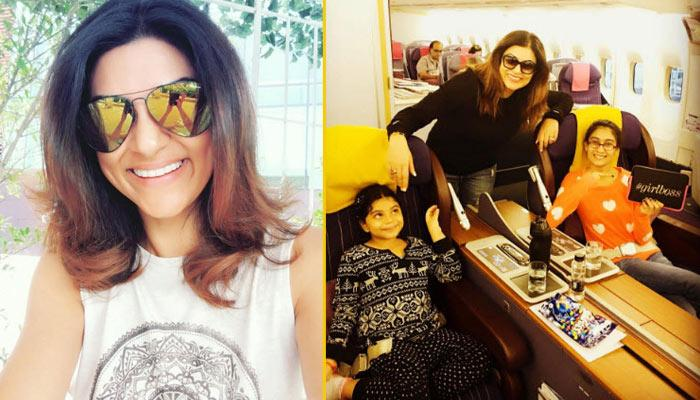 Sushmita Sen's Vacation Pictures With Her Daughters Will Give You Some Amazing Family Trip Goals