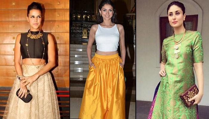 10 Outfits You Can Easily Create From Your Mom's Old Silk Sarees