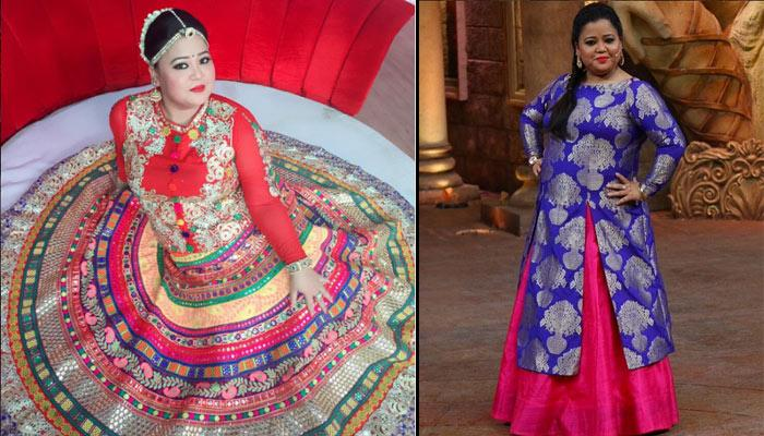 Stylish Outfits Every Plus Size Bride Can Steal From Comedy Queen Bharti Singh