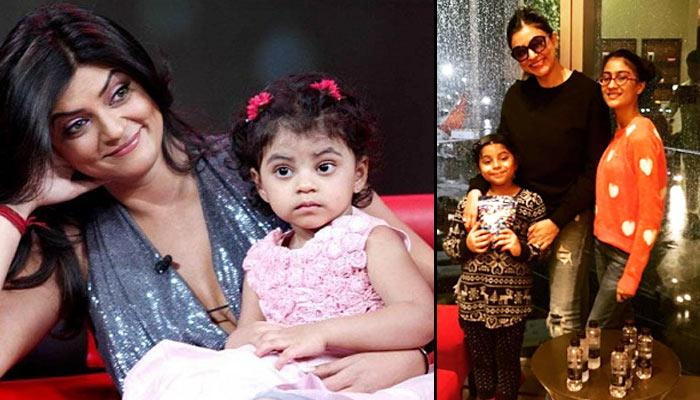 Sushmita Sen Gives The Cutest Birthday Gift To Her Younger Daughter Alisah