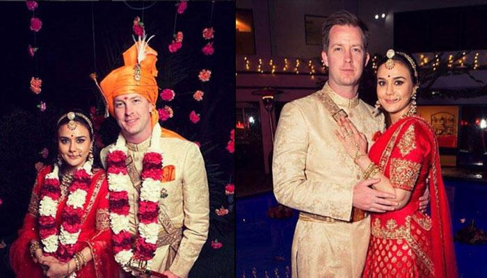 Finally The Wedding Pictures Of Preity Zinta And Gene Goodenough Are Out And They Are Beautiful