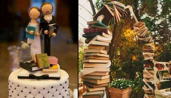 14 Unique Literary Wedding Decor Every Book Lover Must Have On Their Big Day