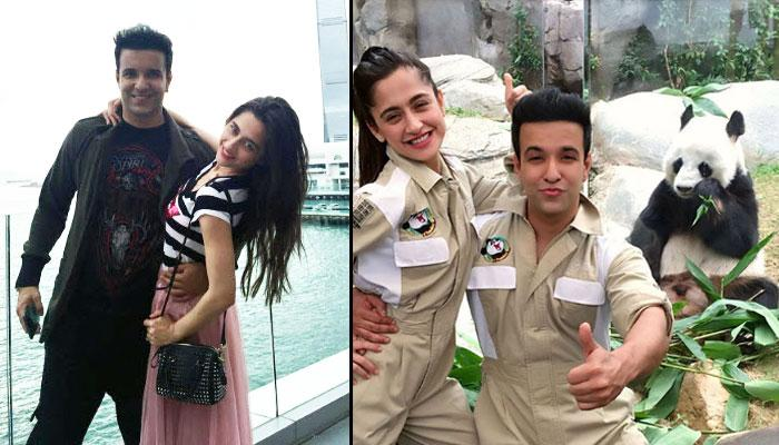 TV Couple Aamir Ali And Sanjeeda Sheikh's Hong Kong Vacation With Pandas Will Get You Jealous