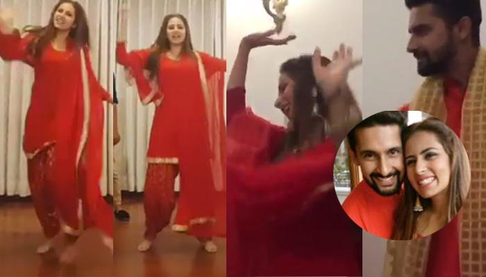 Watch Sargun Dancing With Ravi At Her Brother's Pre-Wedding Function; You'll Fall In Love With Them