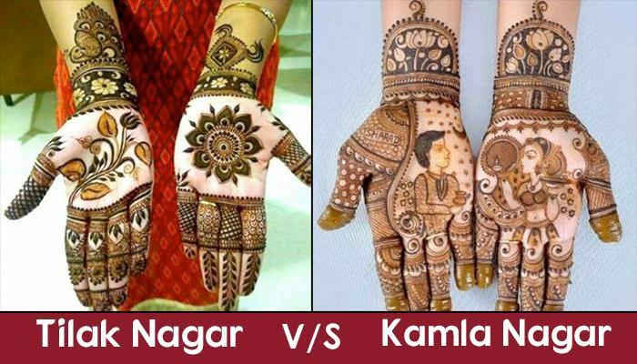 Mehendi Ceremony S List : Places in delhi where you can find the best mehendi artists of