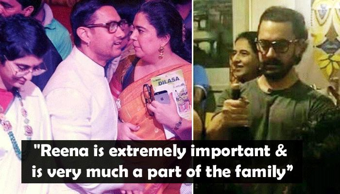 VIDEO: Aamir Khan Celebrates Ex-Wife Reena Dutta's 50th Birthday In The Presence Of His 2nd Wife