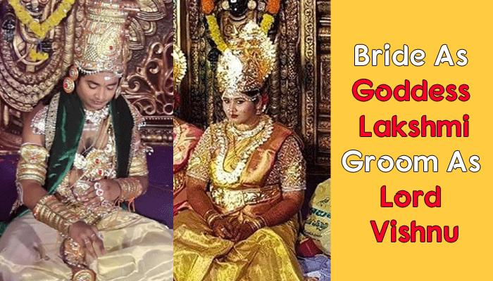 This Couple Had A 'GOD-THEMED' Wedding And The Reason For It Has Left Everyone Wondering