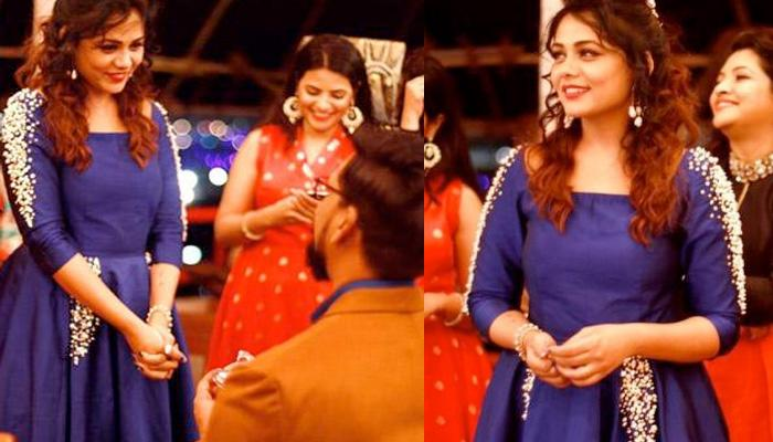 'Pavitra Rishta' Fame Prarthana Got Engaged To A Famous Writer-Director In Royal Blue Gown