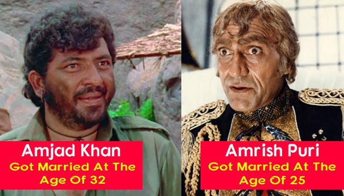 10 Popular Villains Of Bollywood And Their Lesser Known Gorgeous Wives