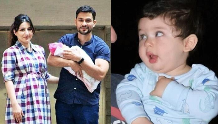 This Is What Happened When Taimur First Met His Baby Sister Inaaya