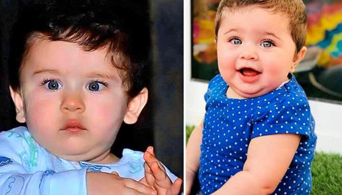Kareena's Son Taimur Has A Look-Alike, Meet Baby Girl Inaya Shoaib From UAE, Exact Same Blue Eyes