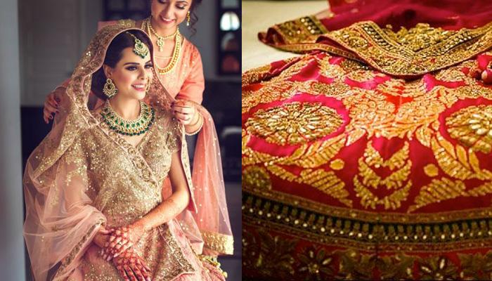 Dear Bestie, Here're 30 Creative Ways To Get Your Wedding Lehenga Clicked For Wedding Allbum