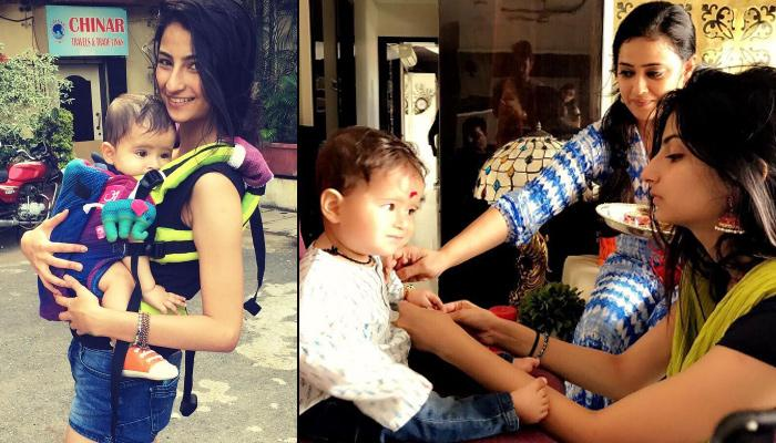 Sometime Back, Shweta Tiwari's Daughter Palak Wrote An Emotional Letter For Her Step-Brother Reyansh