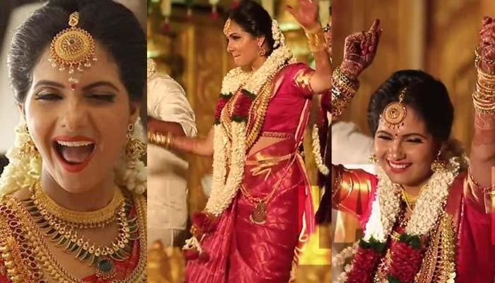 Malayali Actor Ashwathy Dancing With Groom And Family On Her Wedding Is Going Viral