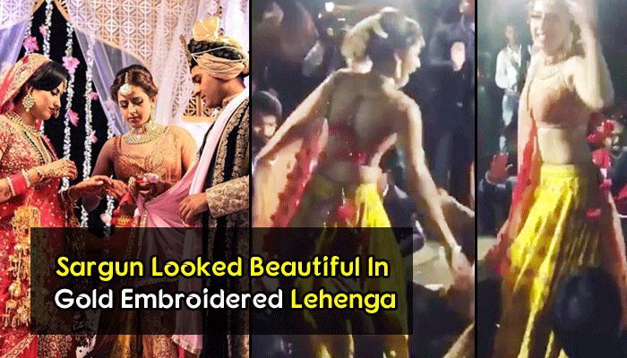 Sargun's Crazy 'Baraat Dance' On Her Brother's Star-Studded Destination Wedding Is So Much Fun