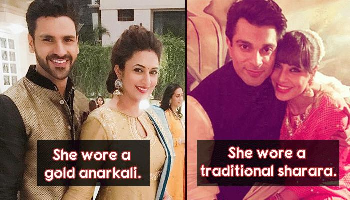 5 Bollywood And TV Celebrity Couples And What They Wore On Their First Diwali