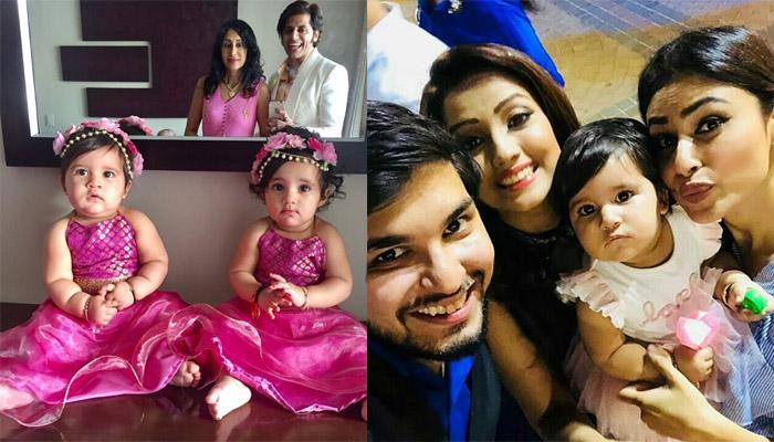 Karanvir And Teejay Throw A Lavish Angelic Theme Party On Their Twins' First Birthday