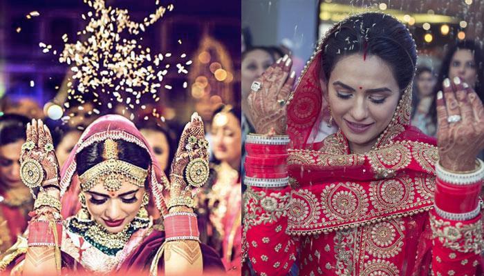 The Reason Behind An Indian Bride Throwing Rice During Her 'Vidaai' Is Beautiful Beyond Words