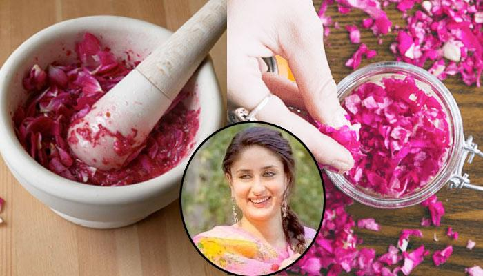 Rose Petals pack for glowing Skin like Bollywood Celebrities
