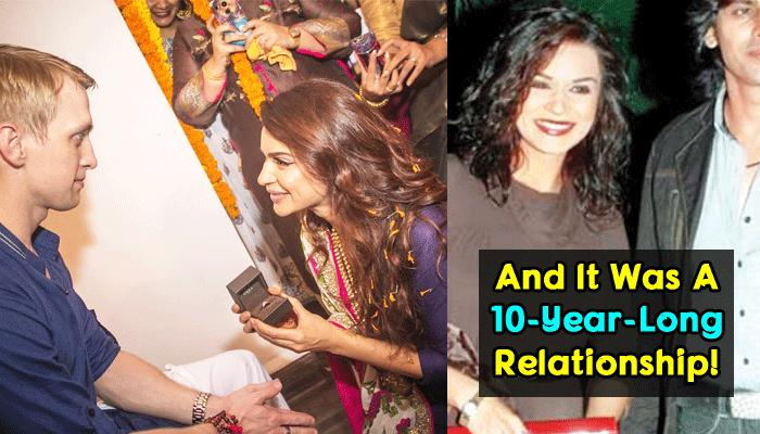 Before Getting Engaged To Brent, Aashka Was In A Relationship With This Famous Actor