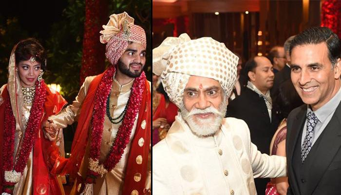 Sunil Sethi S Daughter Tanira Sethi S Wedding In Delhi
