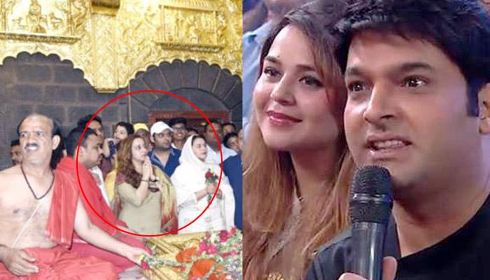 Kapil Visits Shirdi With His To-Be-Wife Ginni, Putting All The Break Up Rumours To Rest