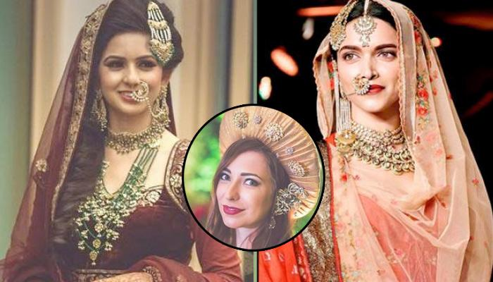 Bride Recreated Deepika's Royal Look From 'Bajirao Mastani' At Her Sangeet Function