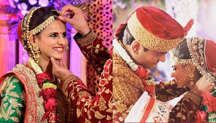 Married To A Diamond Merchant; Vrinda Dawda Had A Big Fat Gujarati Wedding