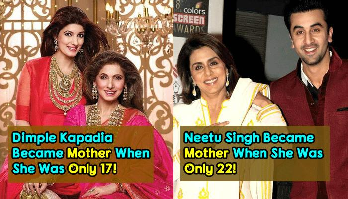 12 Bollywood Actresses Who Embraced Motherhood Before They Turned 30