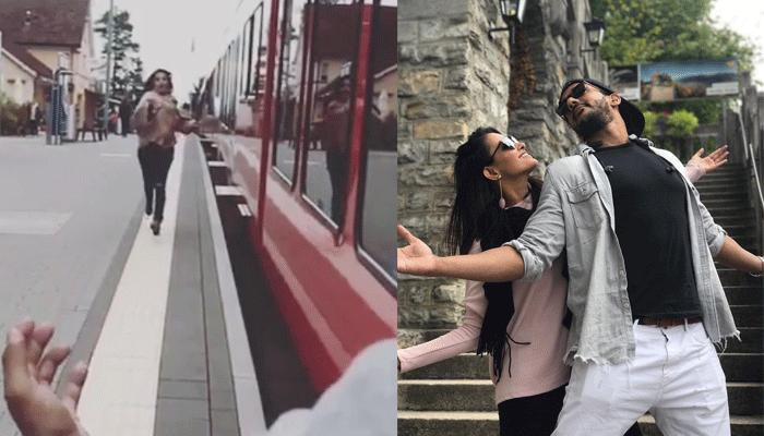 TV Couple Anita-Rohit Recreated Epic DDLJ Scene With A Funny Twist And They Looked Super-Cute